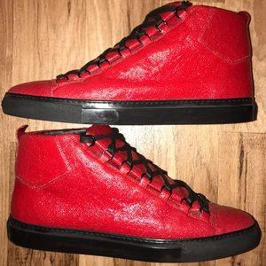 Balenciaga Shoes - Balenciaga Arena Red stingray Sneaker. Size US13 467d9d79440b
